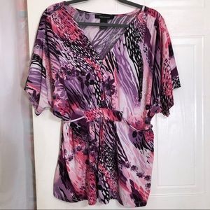 Ashley Stewart Purple Blouse 14/16